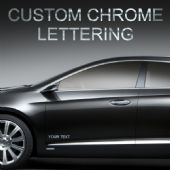 Custom Chrome Lettering